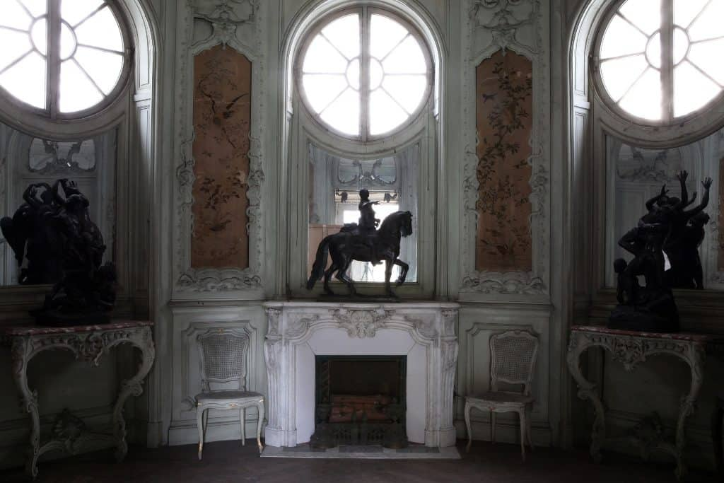 Intérieur de la Rotonde Balzac