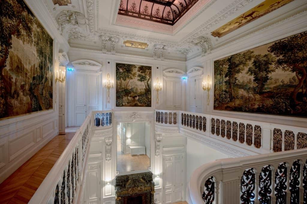 Mezzanine de l'atrium