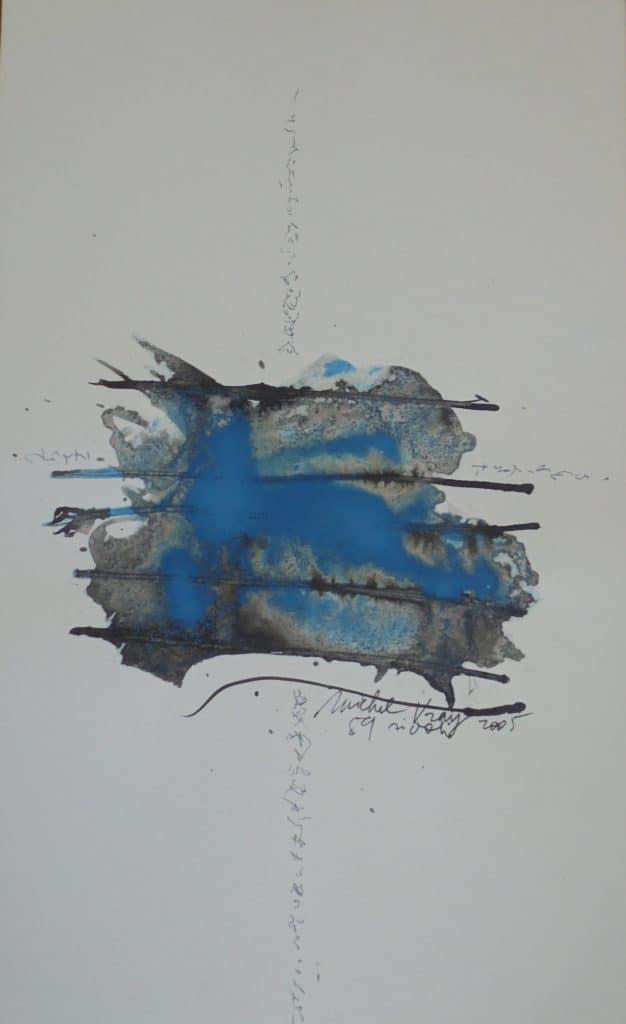 Sans titre, encre de chine, 2005 Michel Vray