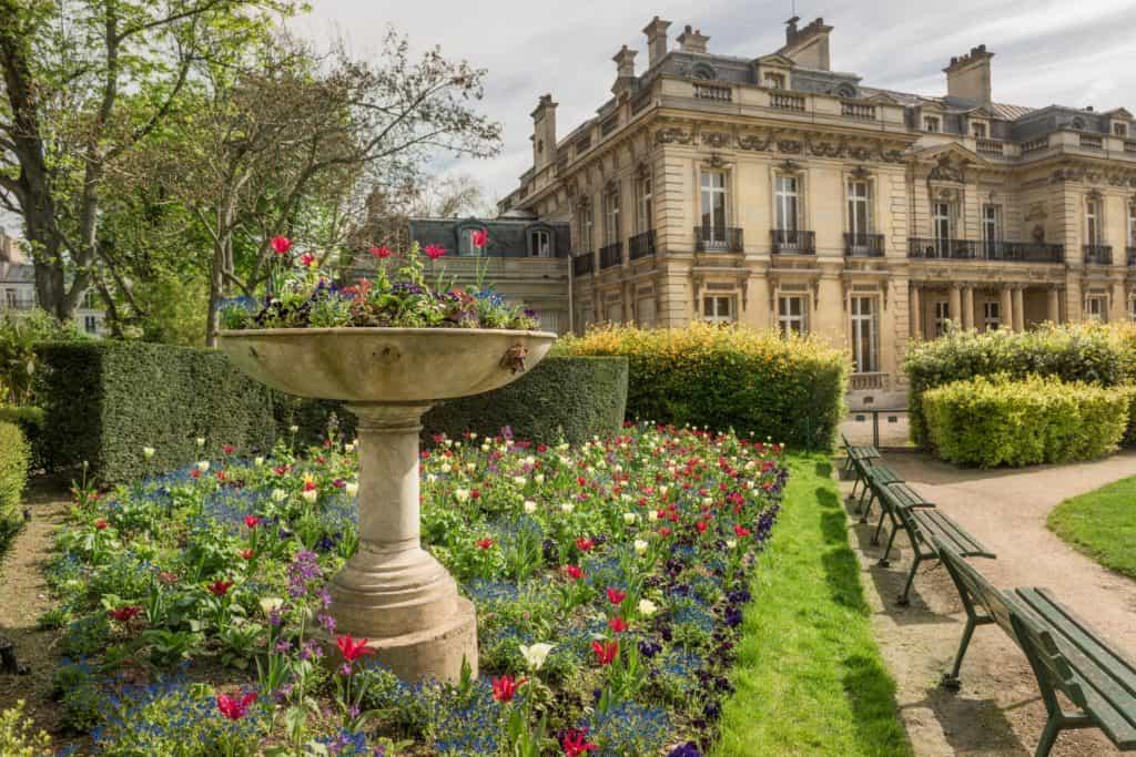 Jardin de l'Hôtel Salomon de Rothschild, ouvert au public