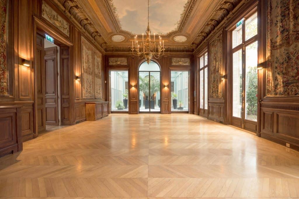 Salle à manger et jardin d'hiver de l'Hôtel Salomon de Rothschild
