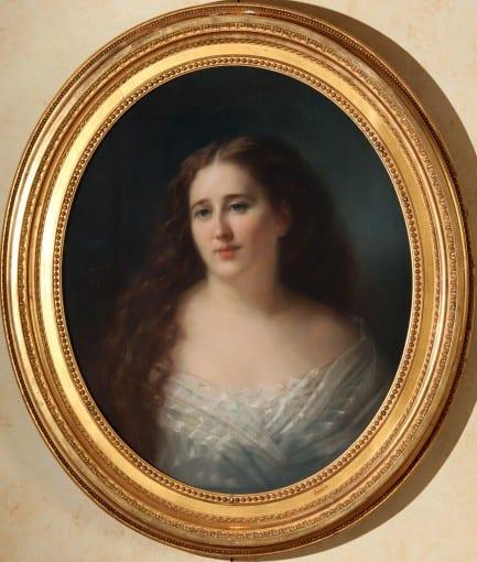 Charles Escot, Portrait de la baronne de Rothschild