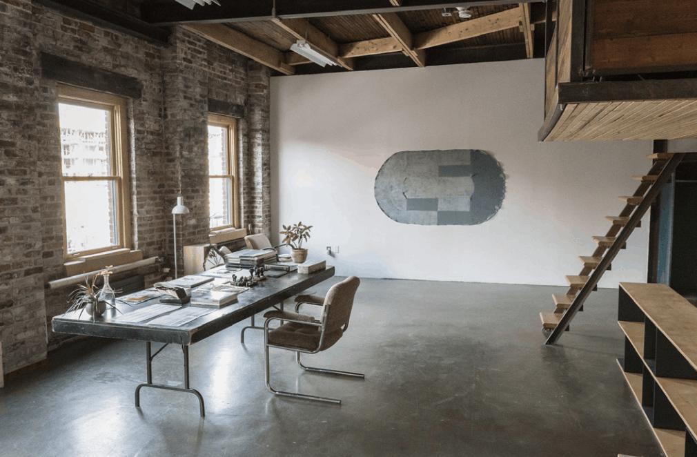 Vue de l'atelier Queen, Résidences Intermationales de la Fonderie Darling, 2018 ©Hugo St-Laurent