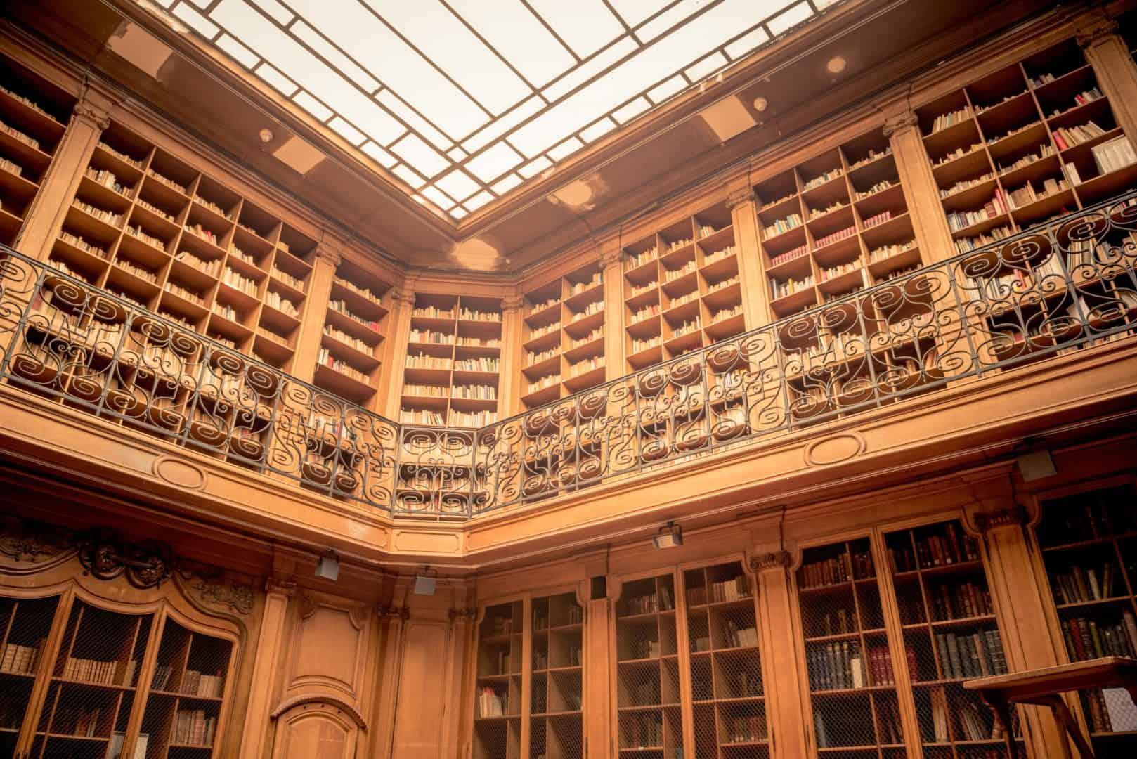 Bibliothèque Smith Lesouëf, photographie Hervé Plumet.