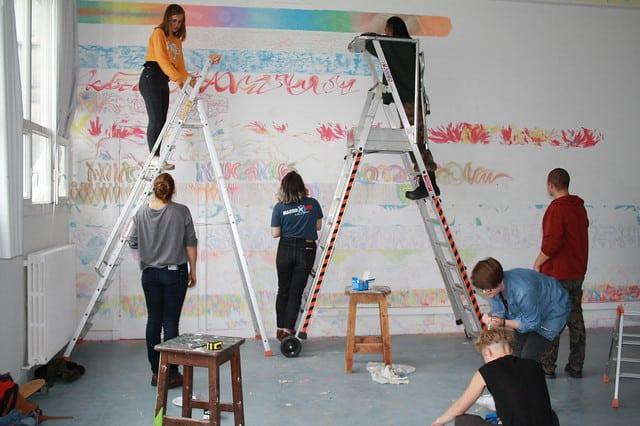 Vue d'atelier, EESAB Rennes