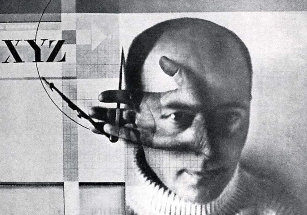 Le Constructeur - Photomontage de Lazar Lissitzky, 1924