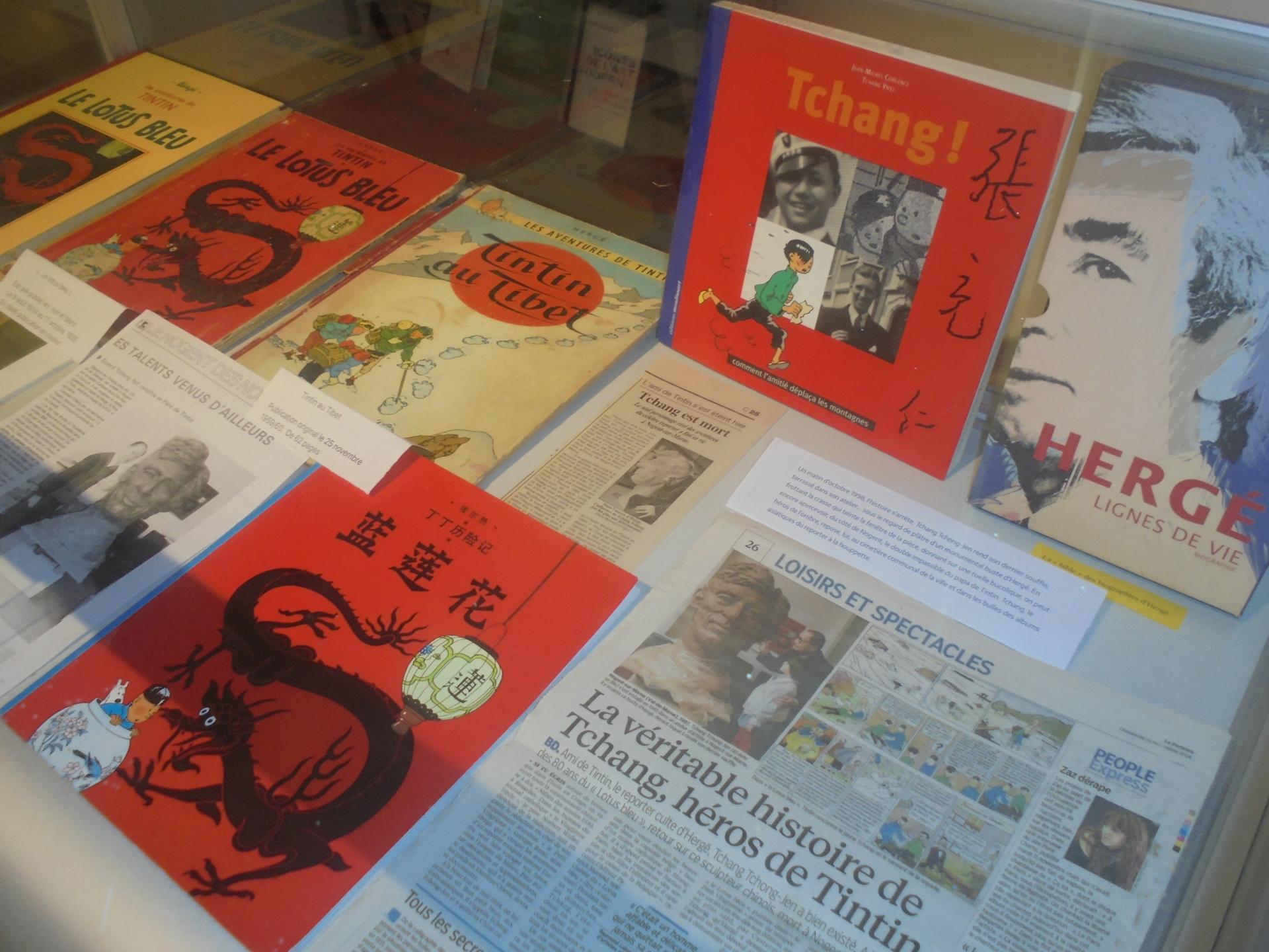 Conférence: Hergé et Tchang, l'histoire d'une belle amitié