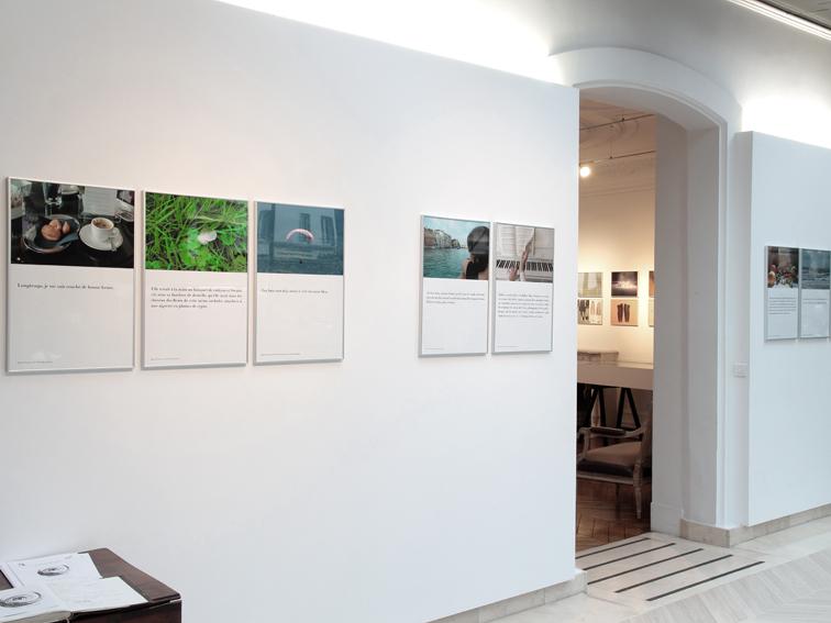 Exposition, «Si j'ai bonne mémoire » Michèle Cirès Brigand (2)