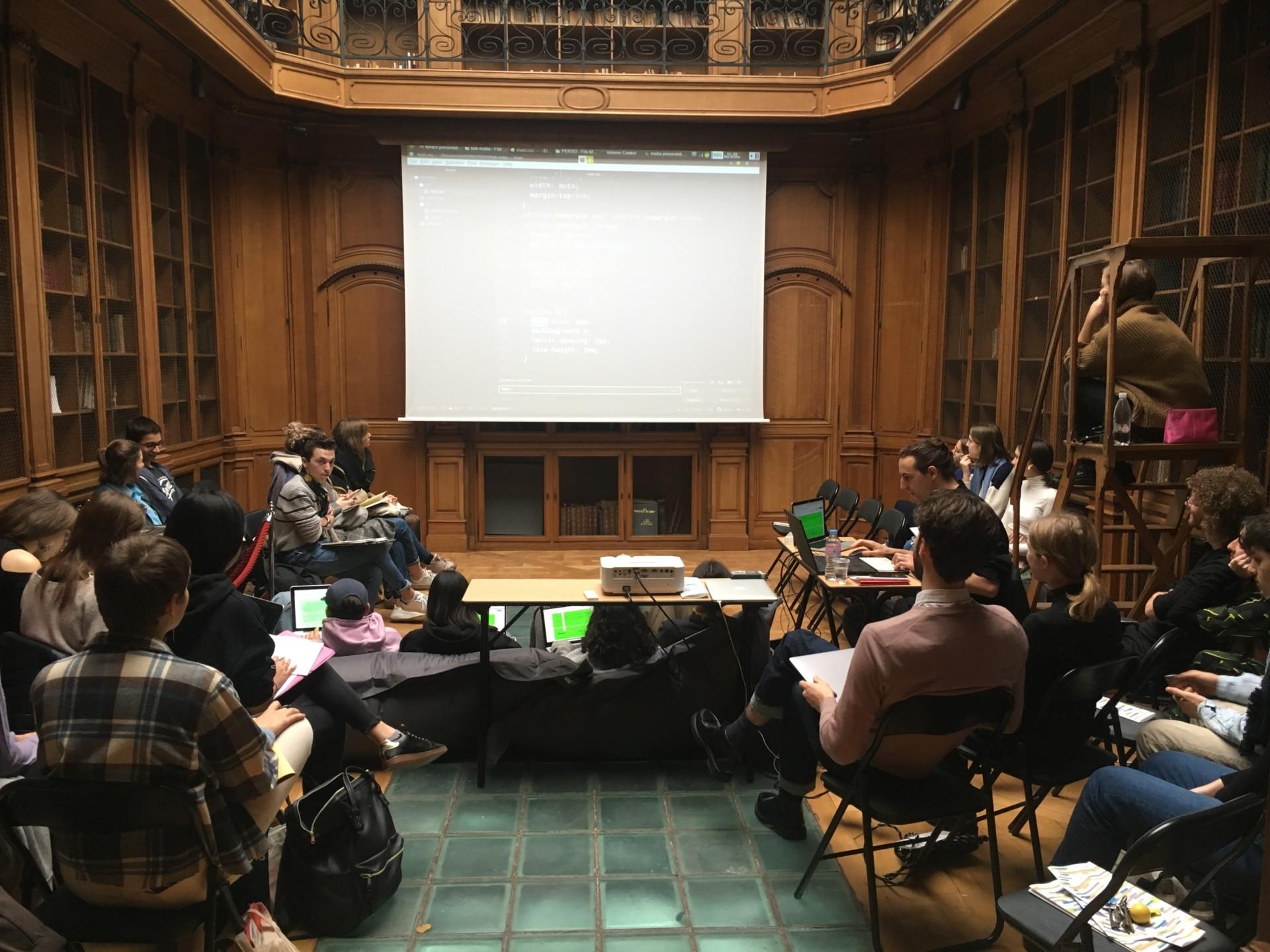 Colloque Designeur·es par le groupe CCC le 24/11/19