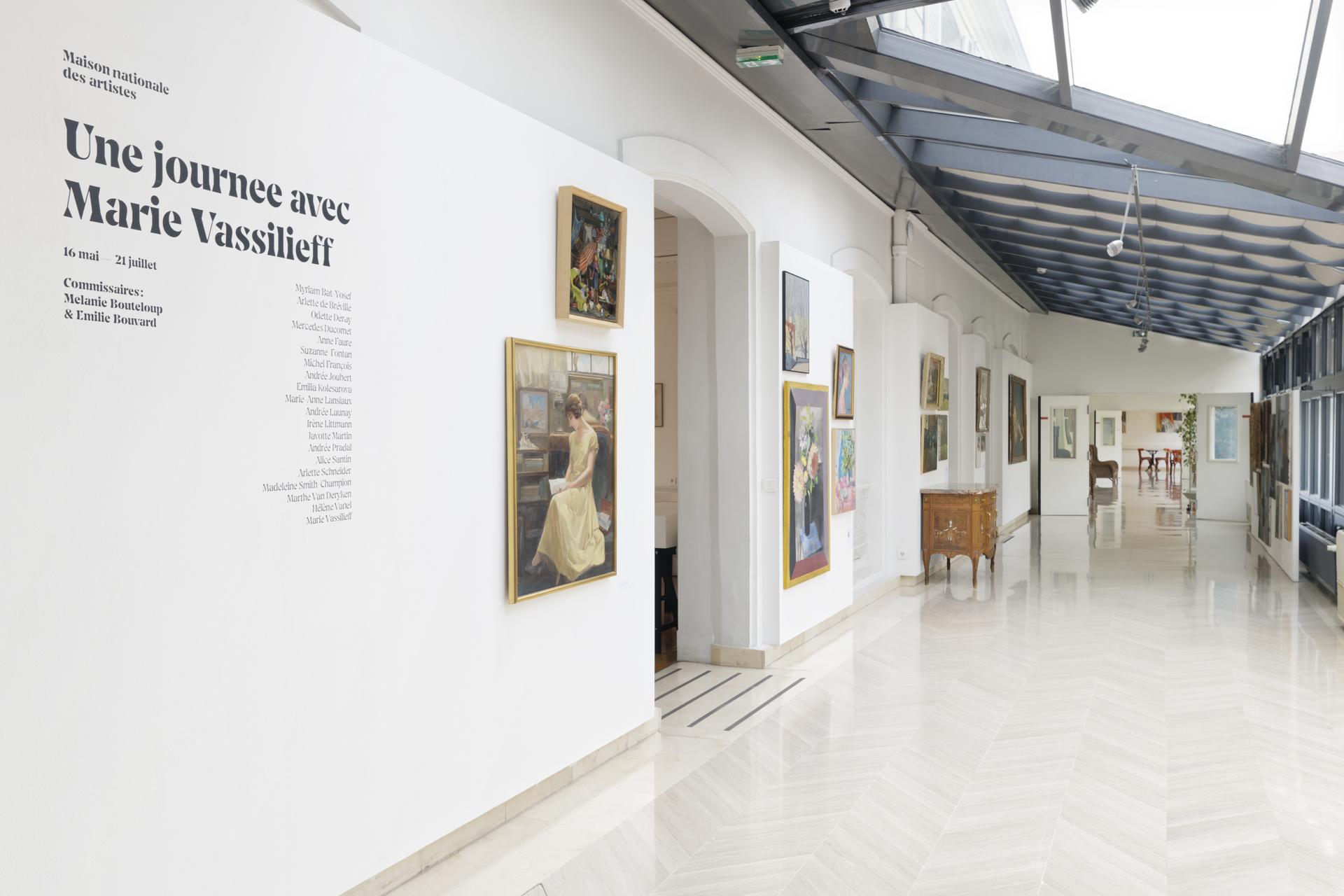 """Vues de l'exposition """"Une journée avec Marie Vassilieff"""" © Aurelien Mole"""
