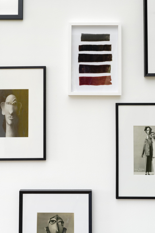 """Yto Barrada, """"Nuancier"""", 2019. Vue de l'exposition """"Une journée avec Marie Vassilieff"""".Crédit Photo : Aurélien Mole"""