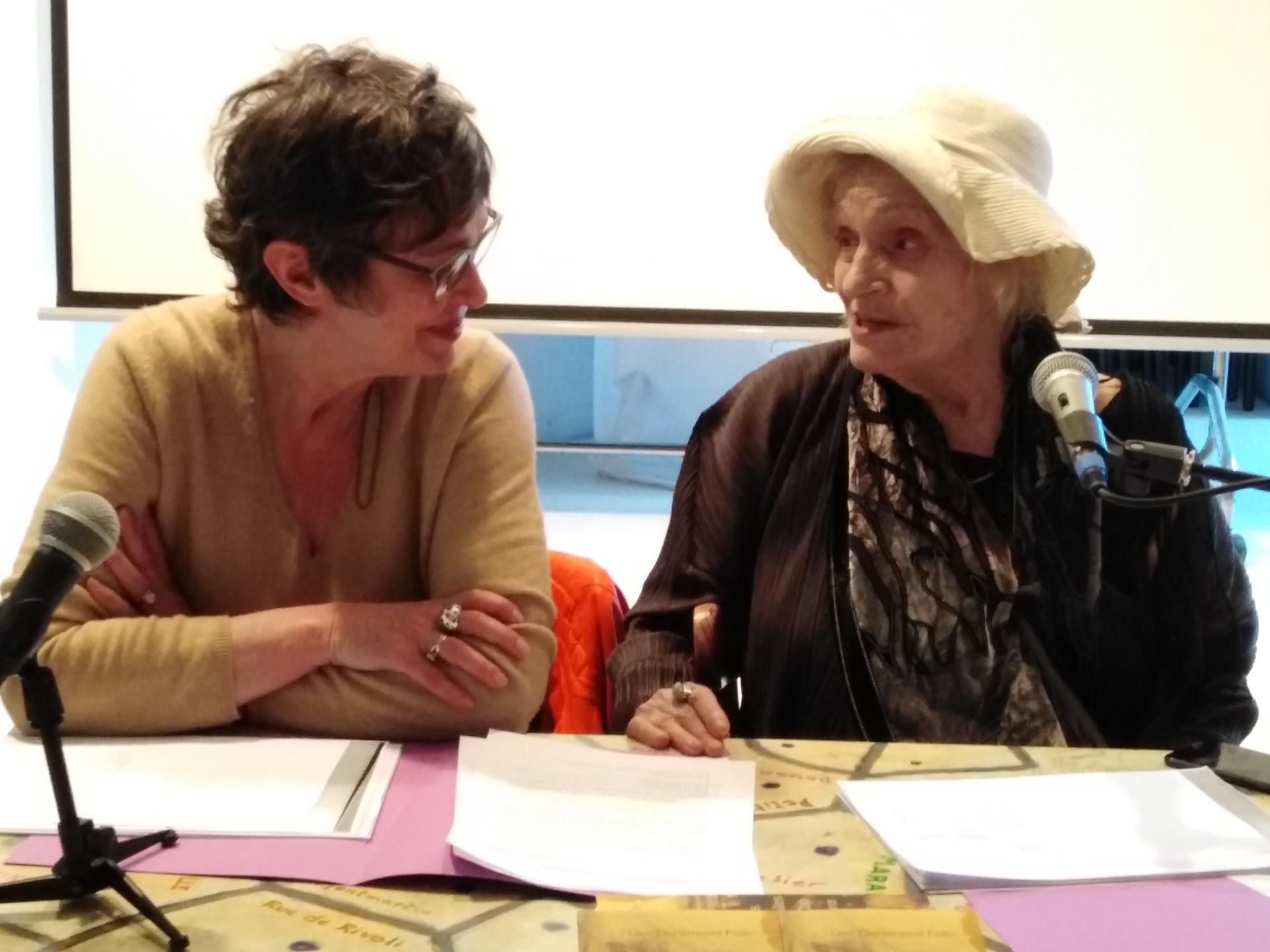 """Présentation du livre """"Les Jonquilles du Cap Misène"""" de Lise Deramond Follin avec Chantal Peroche"""