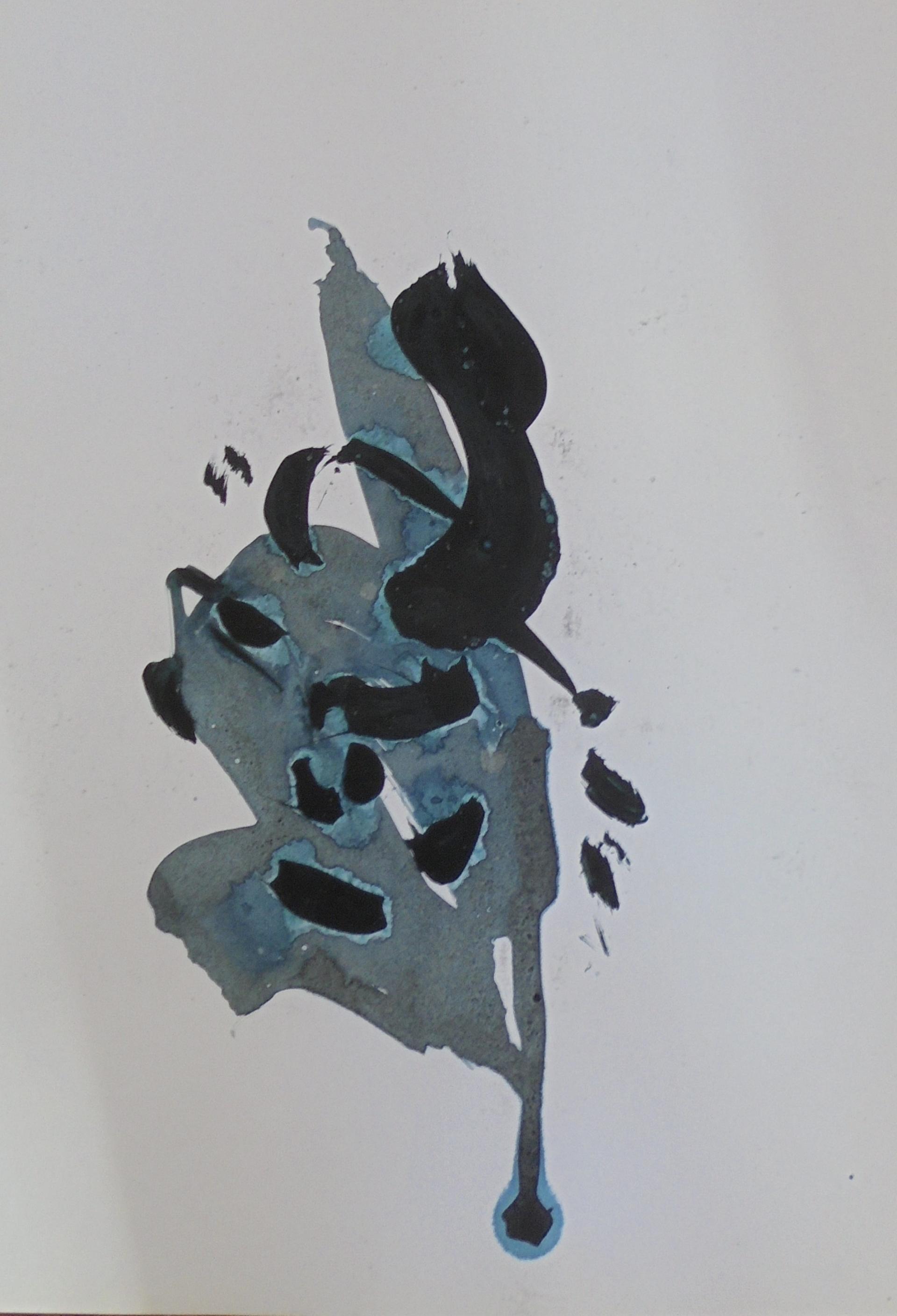 Sans titre,encre de chine, 18cmX30cm, 2003 Michel Vray (3)