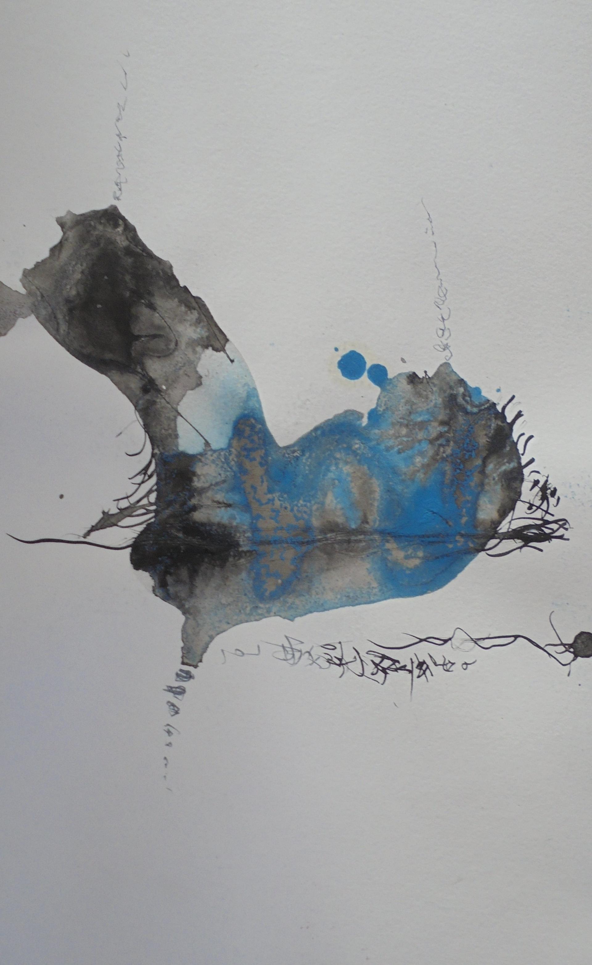 Sans titre,encre de chine, 18cmX30cm, 2004 Michel Vray (3)