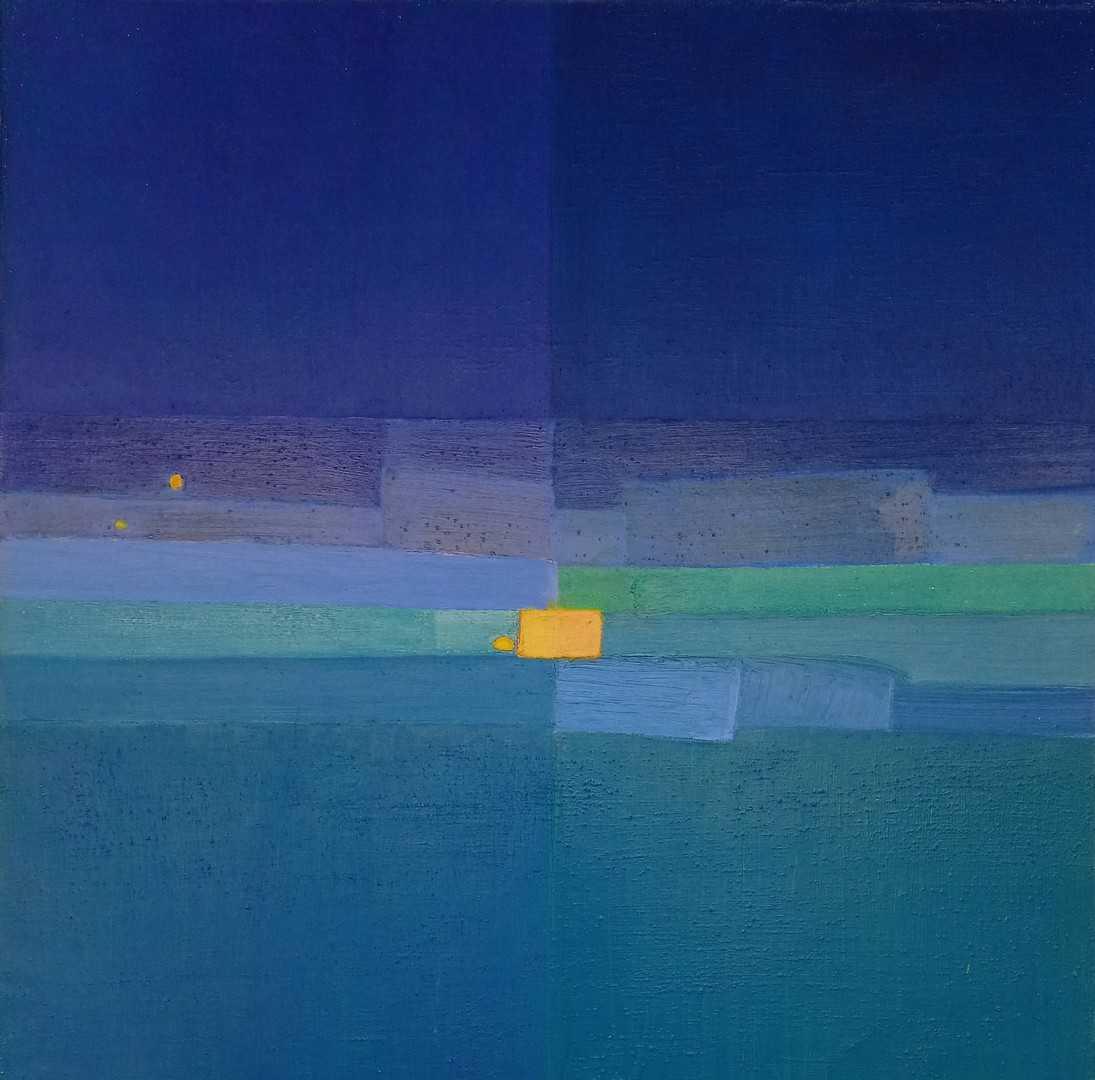 Vue de l'exposition « Psicolor, la passion de la couleur » Jacqueline Carron