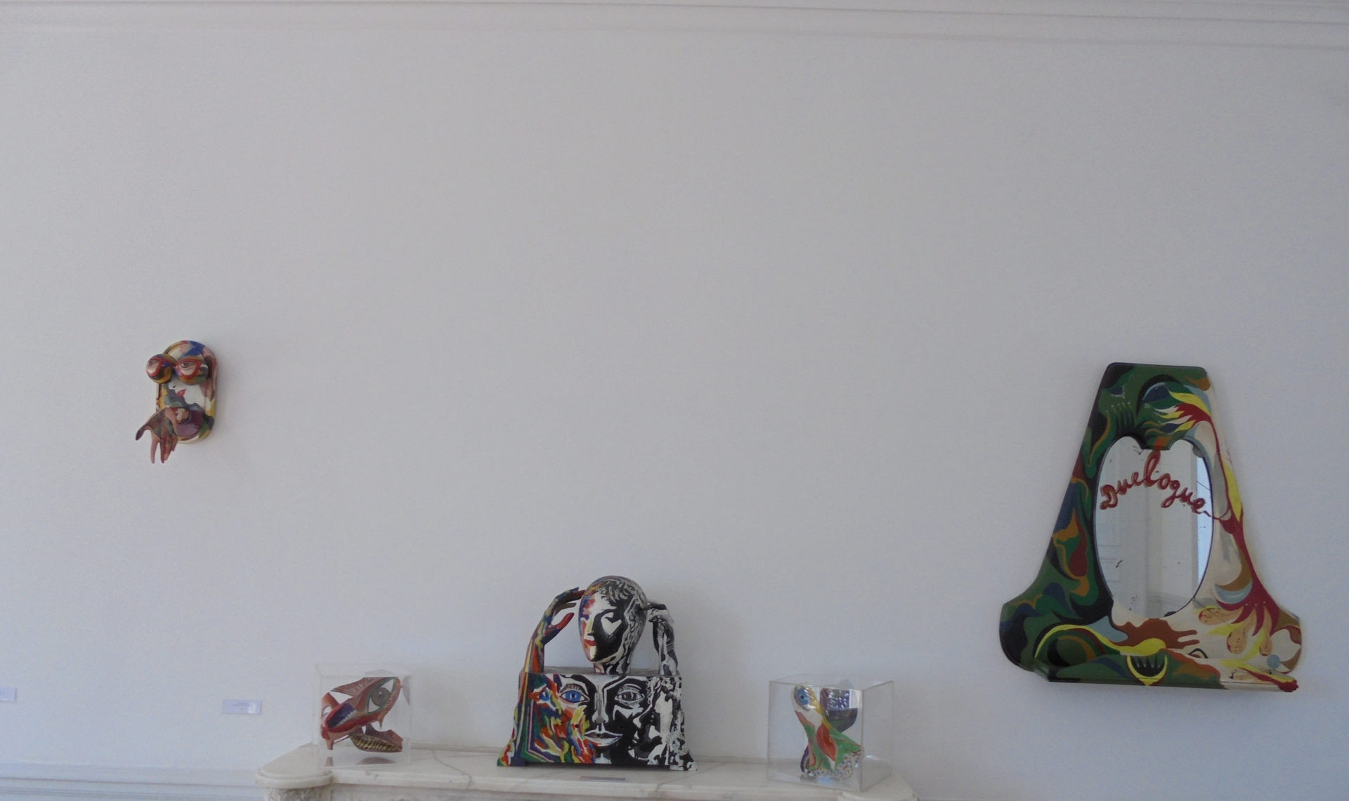 Vue de l'exposition Désir de Myriam Bat-Yosef MNA (2)