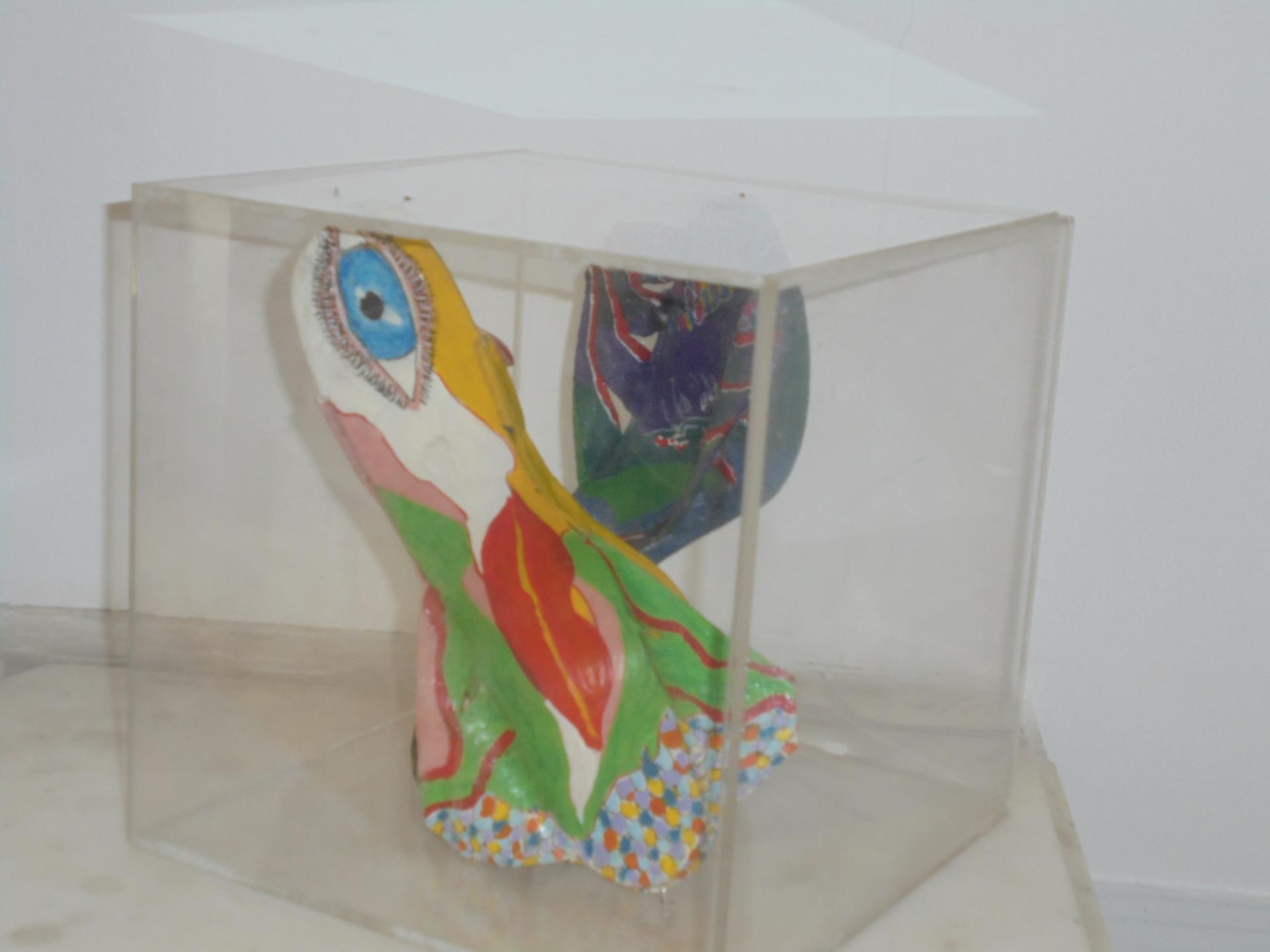 Vue de l'exposition Désir de Myriam Bat-Yosef MNA