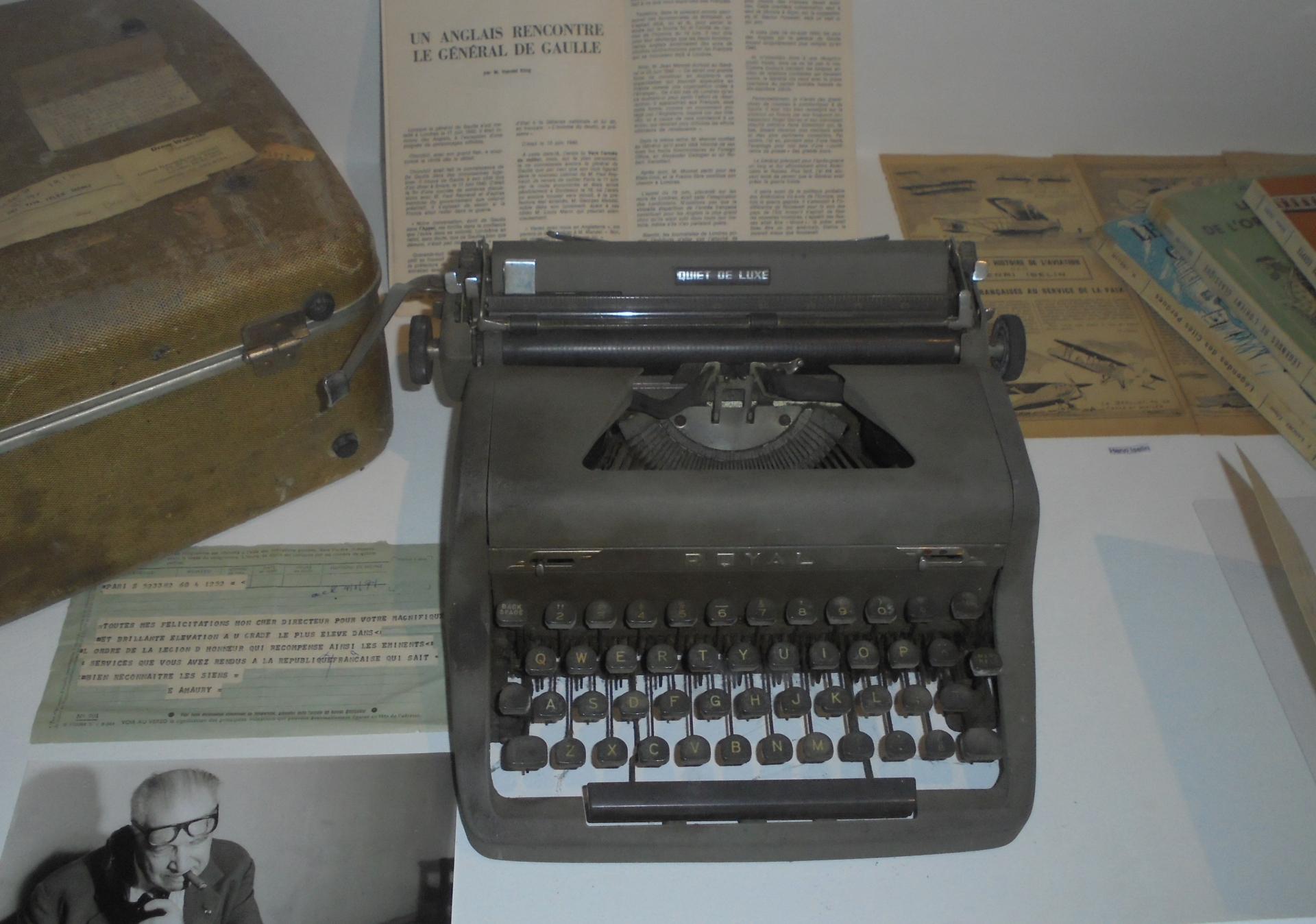 Vue de l'exposition Maison des Ecrivains (6)