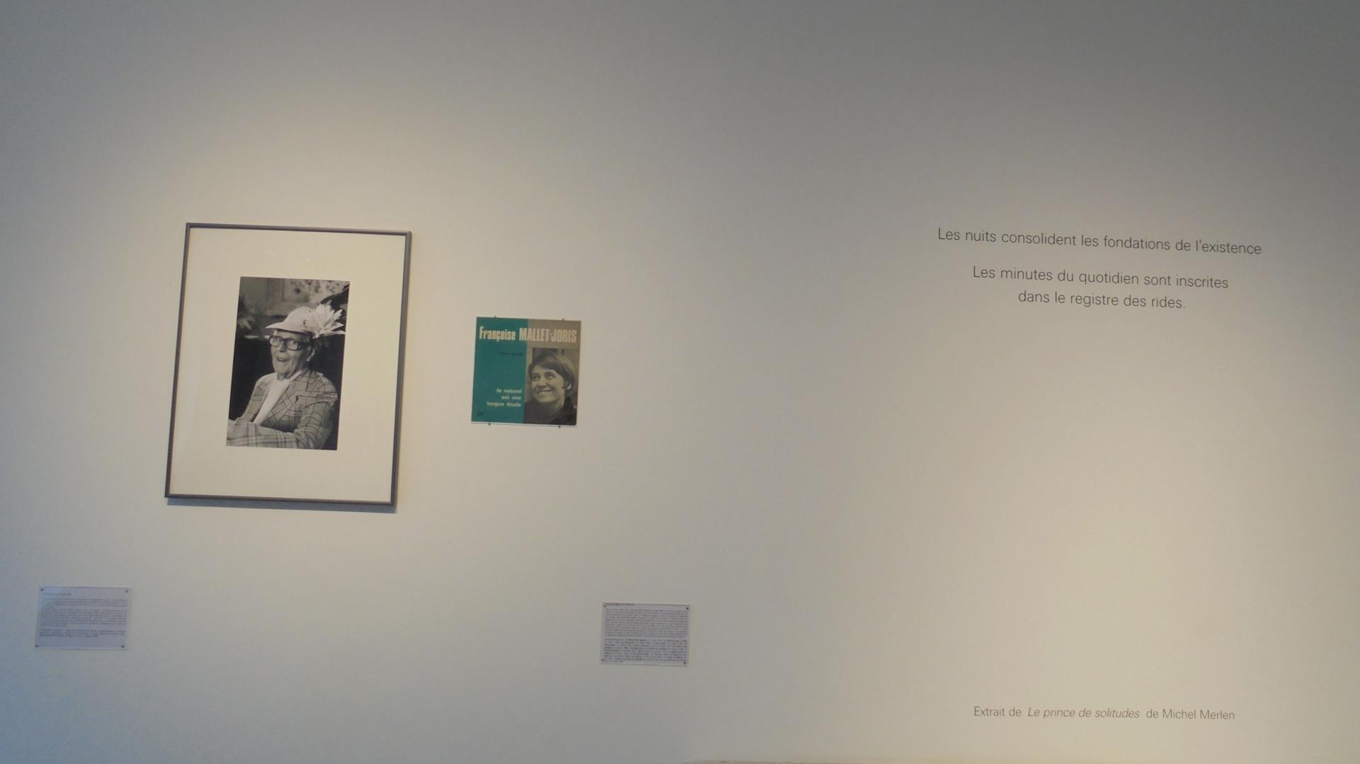 Vue de l'exposition Maison des Ecrivains (9)