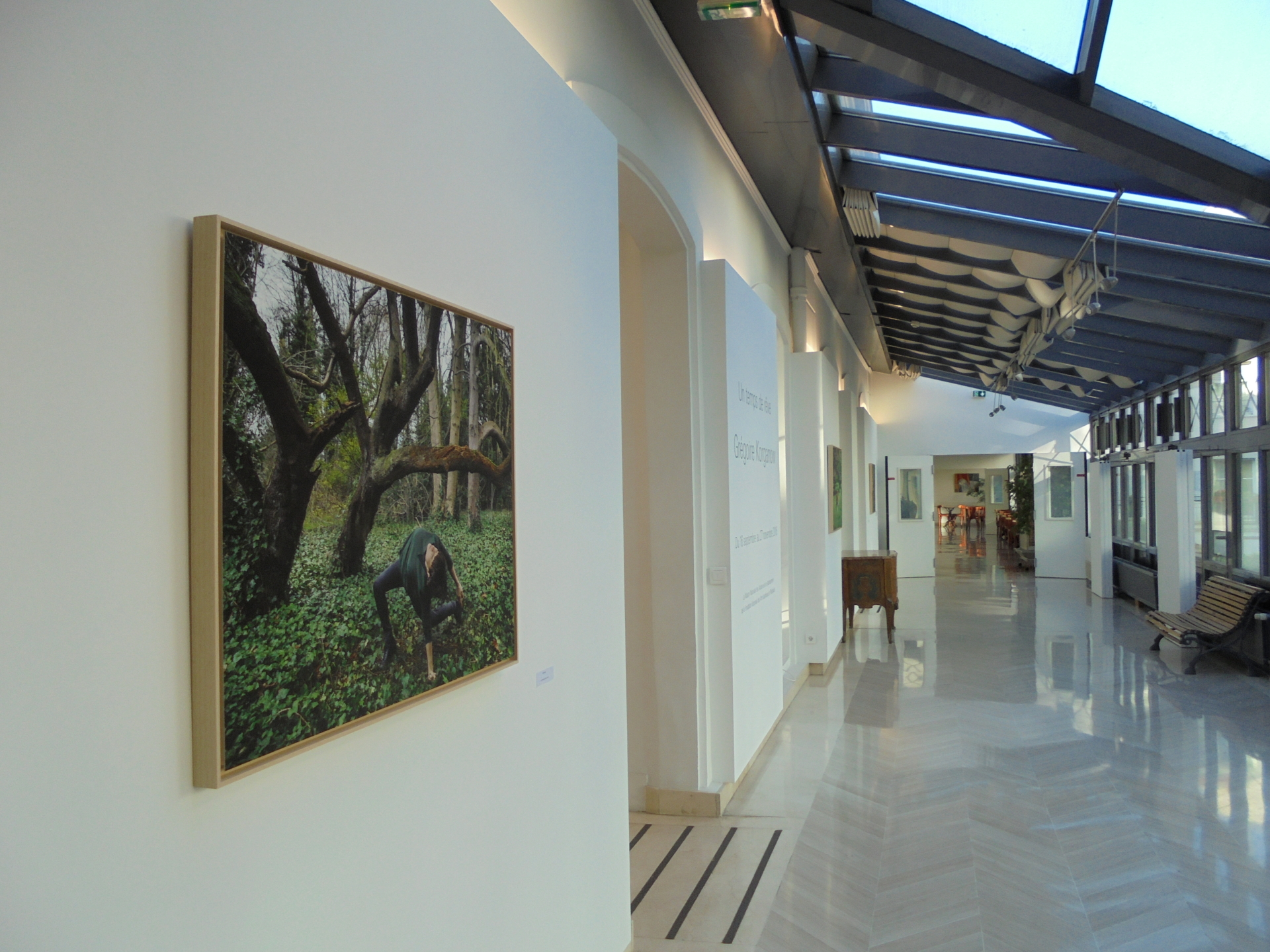 Vue de l'exposition G. KORGANOW (2)
