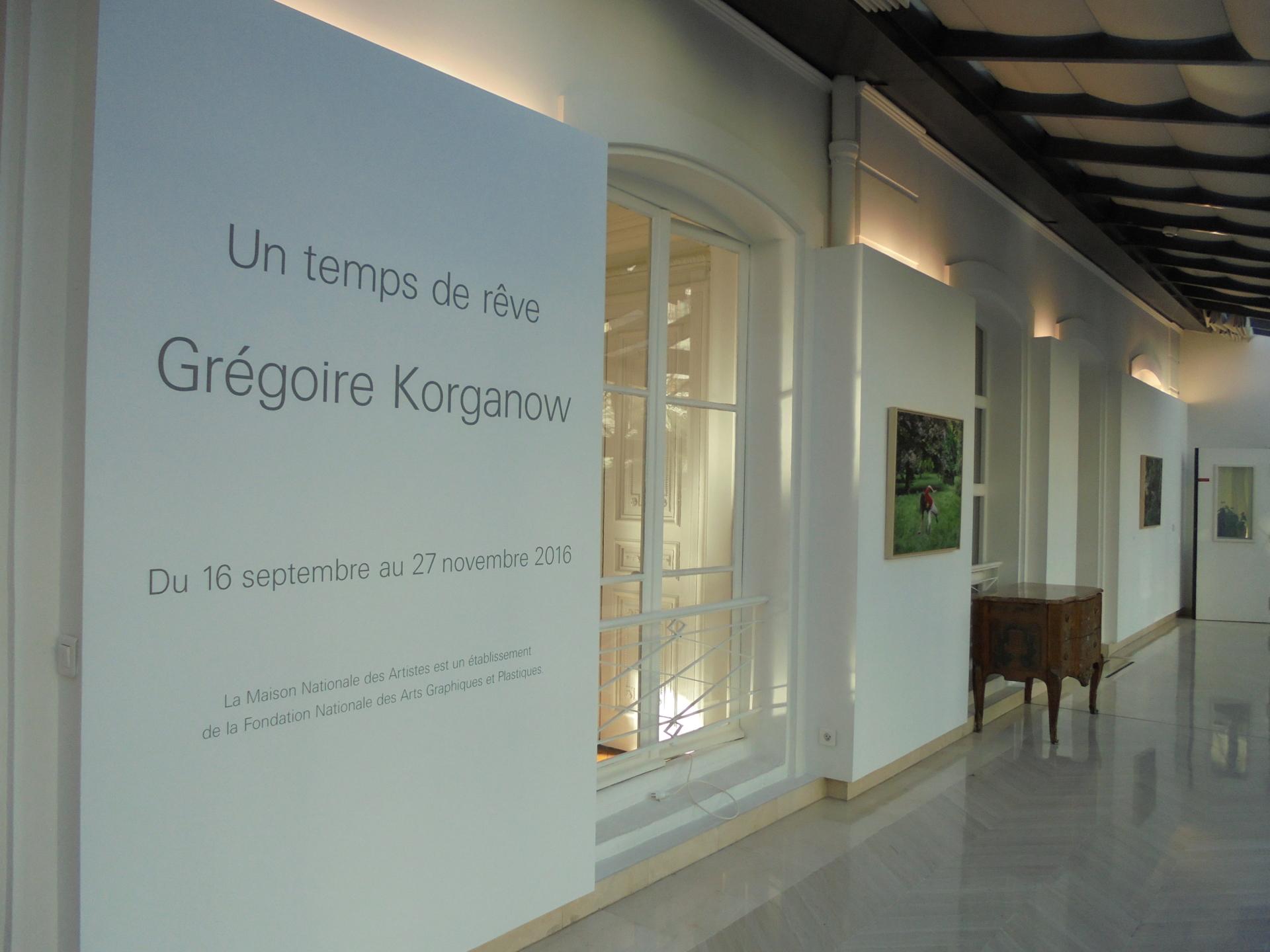 Vues de l'exposition G. KORGANOW (3)