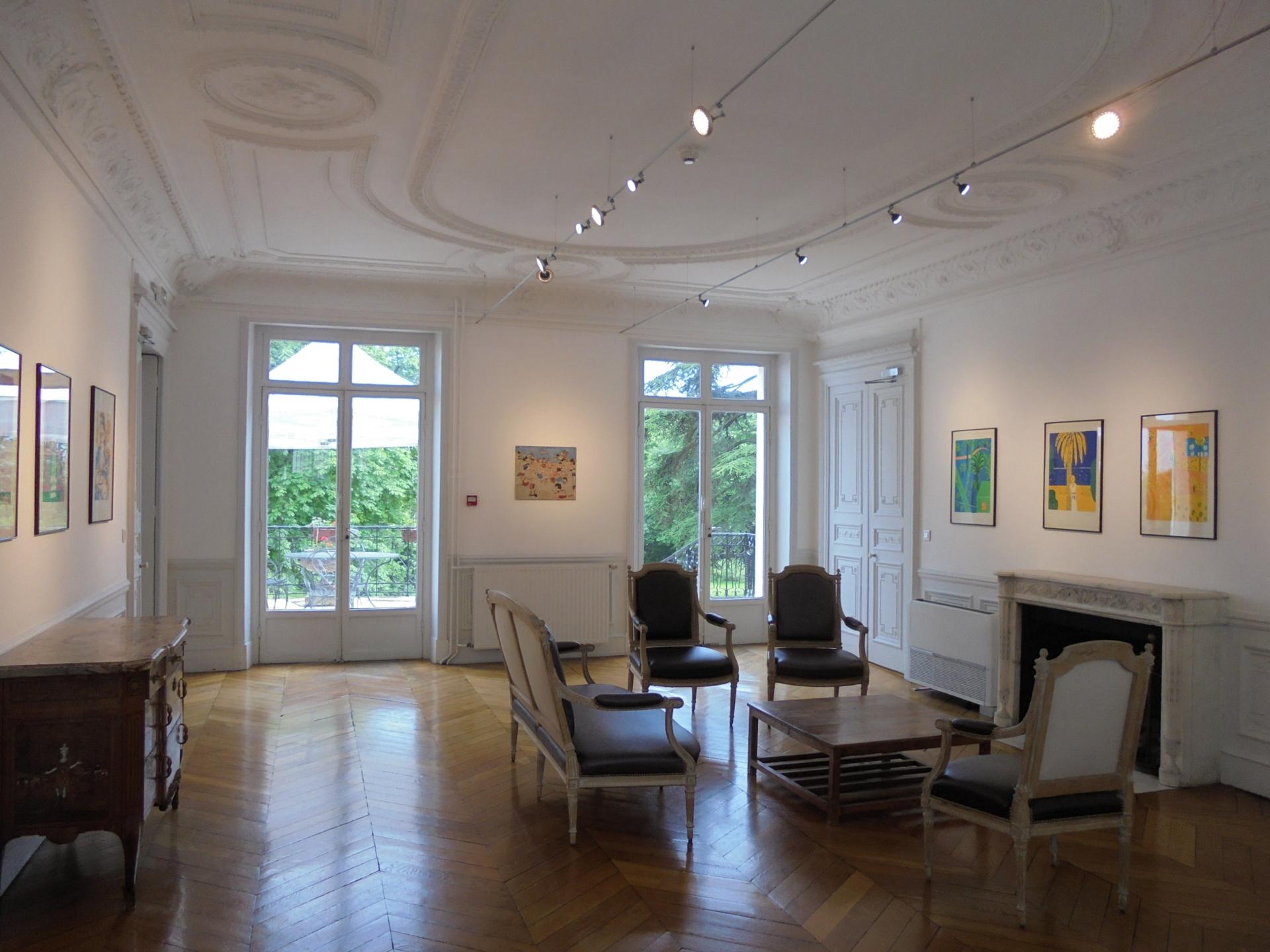 Vues de l'exposition, Un américain à Paris (3)