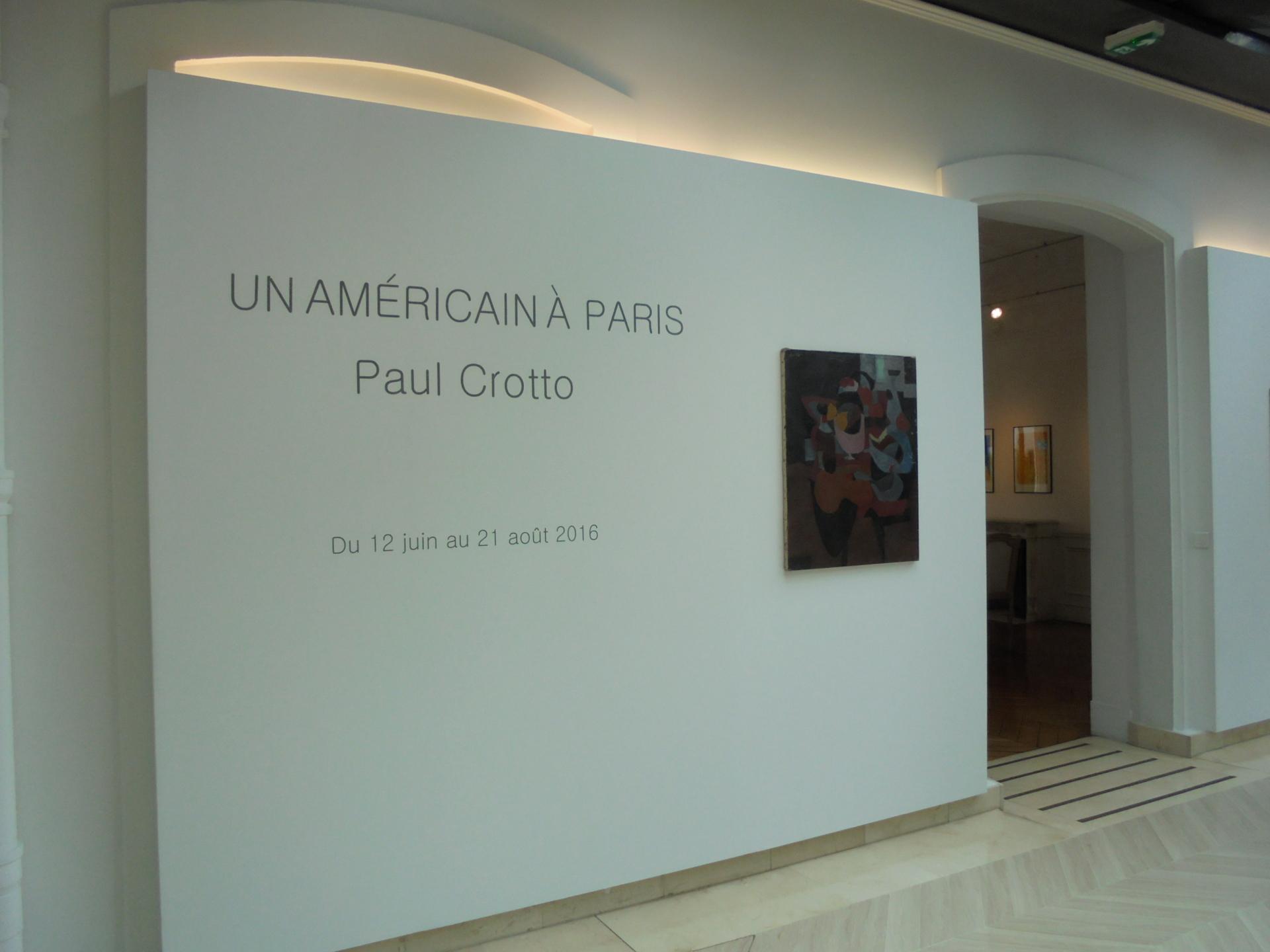 Vues de l'exposition, Un américain à Paris