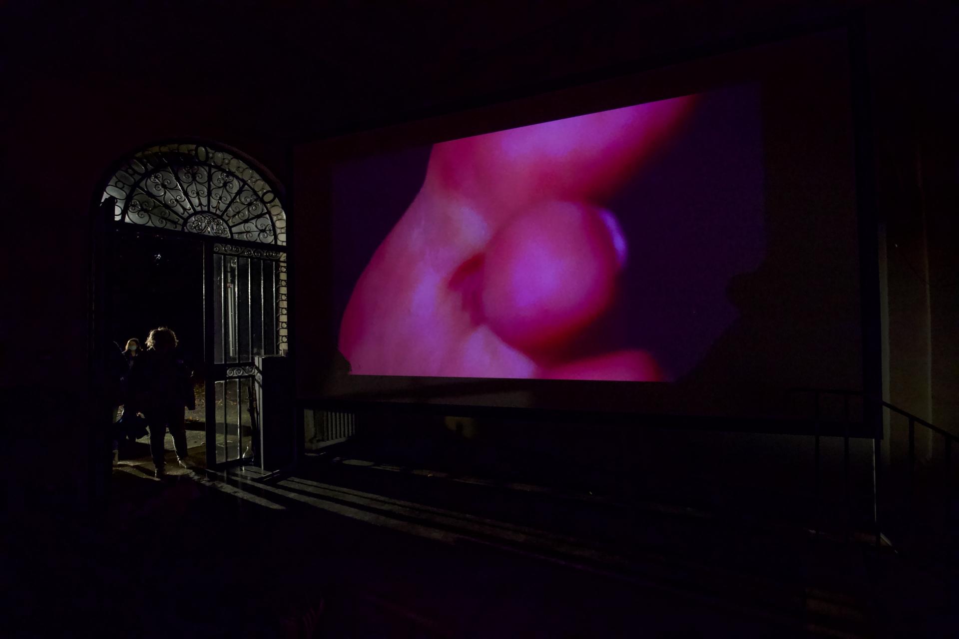 Programmation  vidéo, Nuit Blanche. Rachid - B1, 2017, Jonathan Martin. Crédit photo : Vanessa Silvera